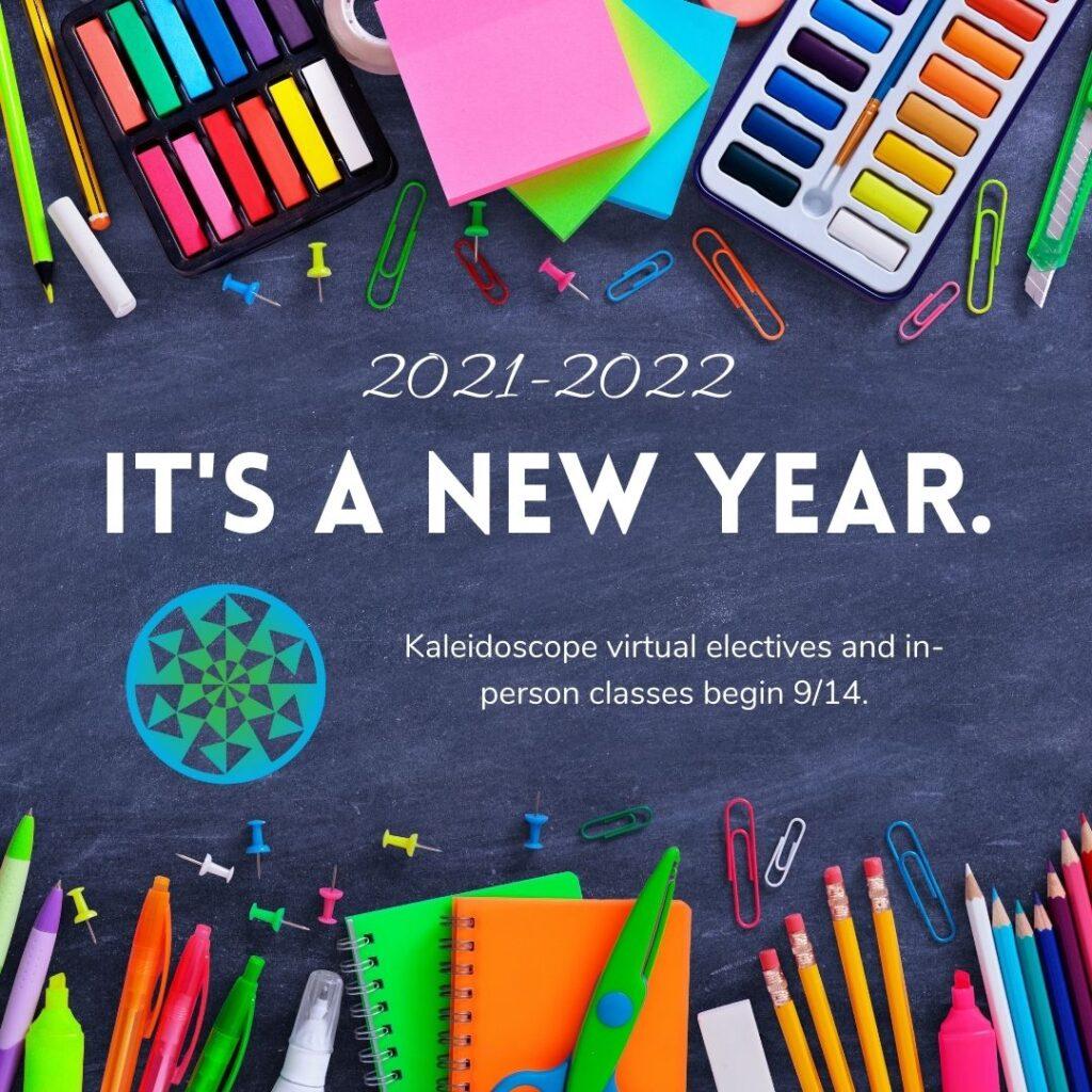 Kickoff to Kaleidoscope 2021-2022!
